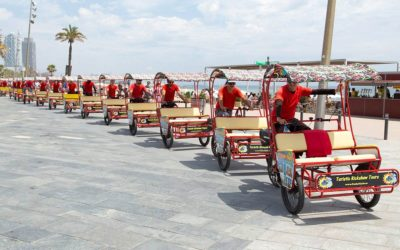 Rickshaw Rental Funky cycle Barcelona