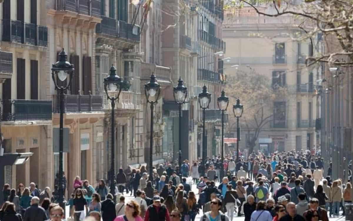 Portal de l'Angel Barcelona, hur tillbringar vi 48 timmar i barcelona, gaudi, shopping, mat, tapas, sagrada familia, biljetter, park guell, las ramblas, placa reial