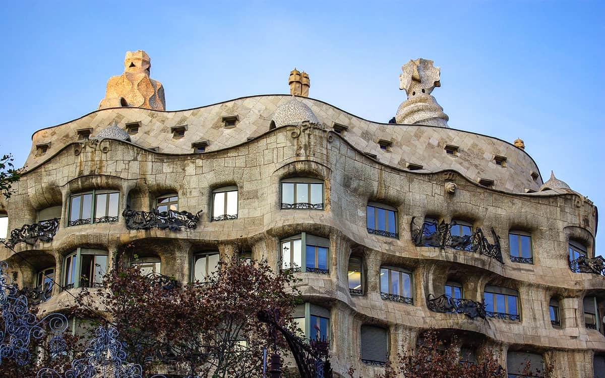 Afbeeldingsresultaat voor barcelona Casa Milà