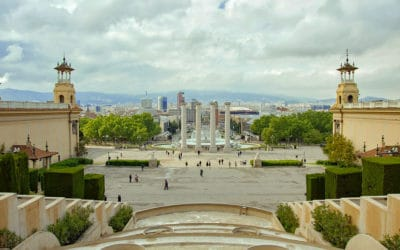 magic fountain barcelona show times