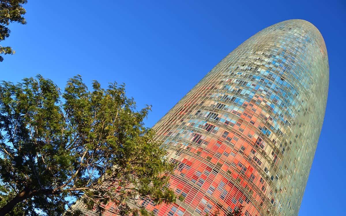 Torre Agbar Barcelona Spain