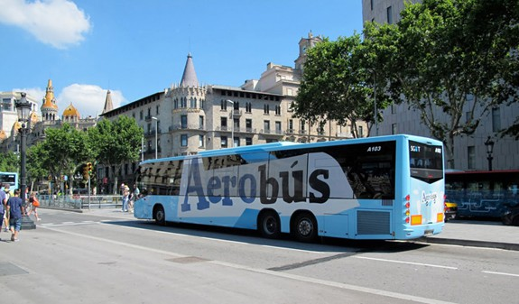 Barcelona Aerobus route and tickets