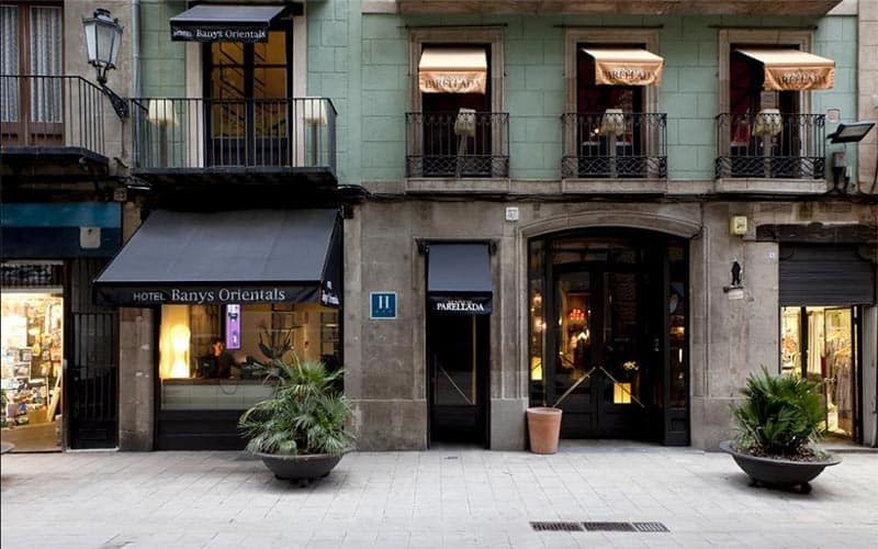best hotels in born barcelona