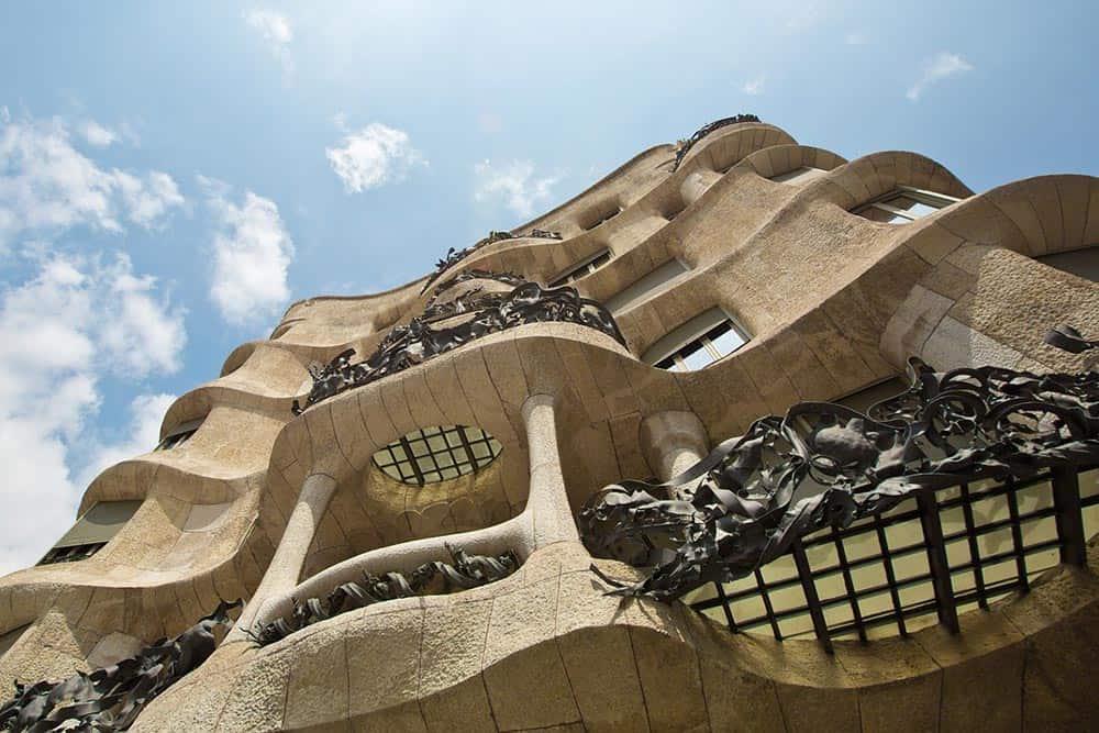 The curvaceous Casa Mila