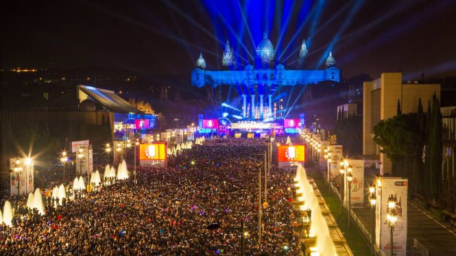 Barcelona New Year's Eve Parties • Celebrating New Year in